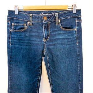 American Eagle Women Size 8 Jeans Skinny Short